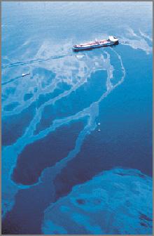 Vazamento de um navio petroleiro