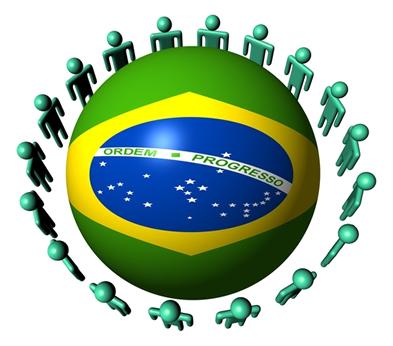 O Brasil detém a quinta maior população do mundo