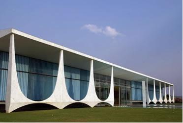 Palácio da Alvorada: residência do presidente do Brasil