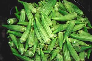 O quiabo é consumido frito, refogado ou cozido