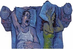 O ronco pode abalar relacionamentos