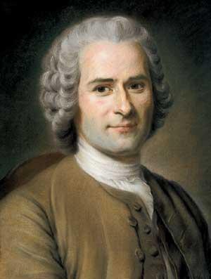 Rousseau - Autor do livro Emilio, ou Da Educação