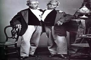 """Irmãos Chang e Eng: responsáveis pela expressão """"gêmeos siameses"""""""