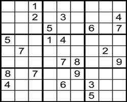 Um exemplo de Sudoku