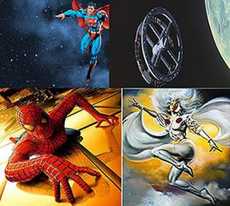 Superman, Homem-Aranha, 2001 Uma Odisséia no Espaço, Tempestade (X-MEN)