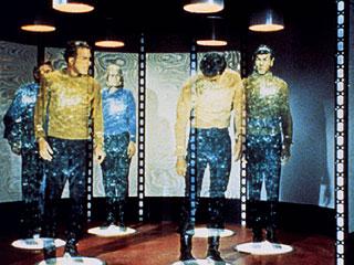 Teletransporte de pessoas no filme Guerra nas Estrelas