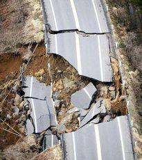 Danos provocados por terremoto