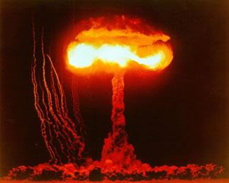 Os efeitos de uma bomba nuclear são extremamente destrutivos