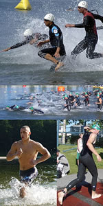 Triathlon - Surgiu da junção da natação, ciclismo e corrida