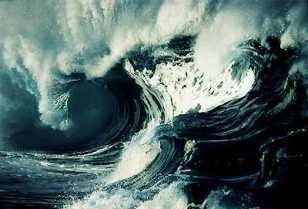 Tsunamis são gigantescas ondas