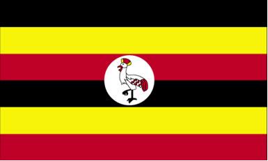 Bandeira de Uganda