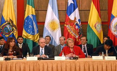Representantes de Estados da América do Sul