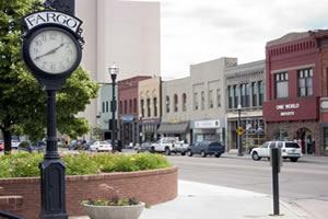 Fargo, a maior cidade da Dakota do Norte