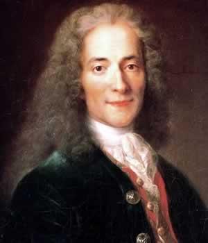 Voltaire - Possui convicções positias sobre a verdade, sabedoria e a felicidade