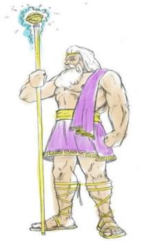 Zeus, o governante de todos os deuses