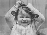 Criança com sintomas de Ansiedade