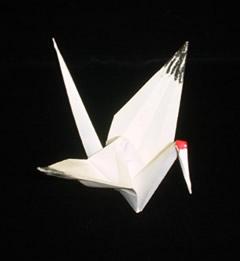 Tsuru origami japonês