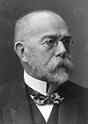 Robert Koch, descobridor do bacilo da tuberculose