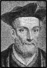 Retrato do Frade francês François Rabelais