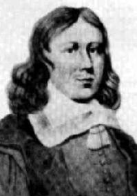 Retrato do matemático holandês Frans van Schooten