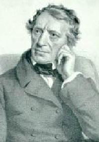 O poeta e dramaturgo Franz Seraphicus Grillparzer
