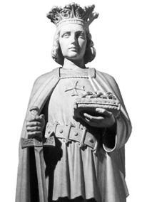 Rei Luís IX, homem justo, humano e valente