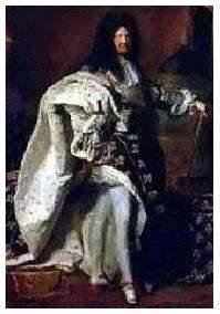 Rei Luís XIV, conhecido como o Rei Sol