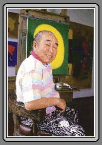 Manabu Mabe, apelidado no Brasil de O Samurai da pintura