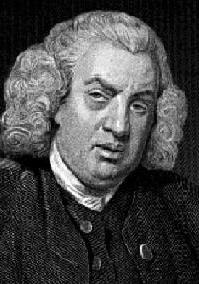 Crítico literário Samuel Johnson