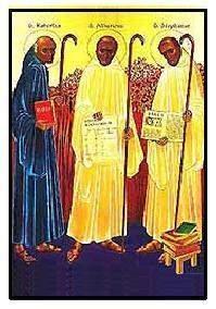 Um dos abades fundadores da Ordem Cisterciense
