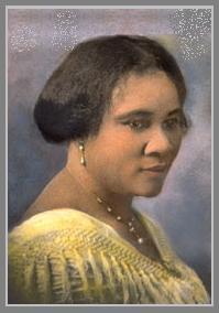 Em 1905, desenvolveu uma fórmula para criar um penteado liso e brilhante para mulheres afro-americanas