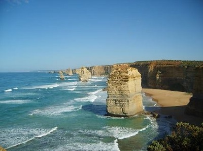 Parque Nacional Twelve Apostles, em Great Ocean Walk, no estado de Victoria