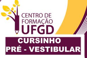 O Pré-Vestibular da UFGD é ministrado como Projeto de Extensão pelo Centro de Formação da universidade