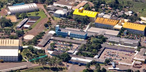 Vista aérea do Campus de Chapecó
