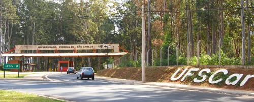Entrada do Campus em São Carlos