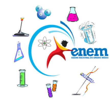 A prova de Ciências Naturais e suas Tecnologias, do ENEM, englobará os conteúdos de Química
