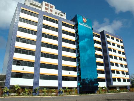 Prédio do do Bloco E da unidade de Recife, em Pernambuco.