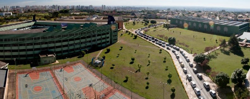 Vista aérea do Campus I