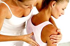 A massagem é uma das técnicas desenvolvidas no curso