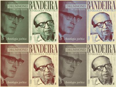 Carlos Drummond de Andrade e Manuel Bandeira estão entre os poetas mais requisitados pelo Enem.