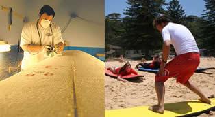 Fábrica de pranchas e escola de surf: Dois ramos de atuação lucrativos