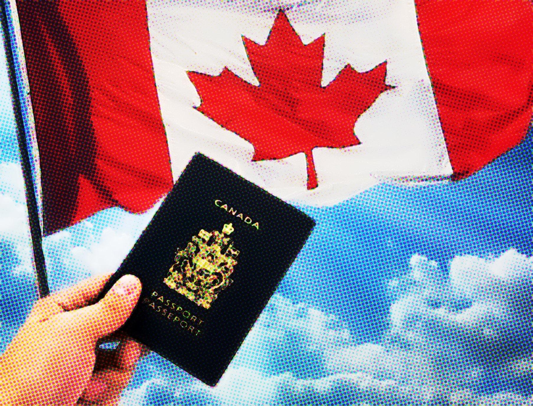 A solicitação é feita online no site de Imigração do Canadá