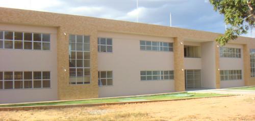 Prédio em construção no Campus de Barreiras