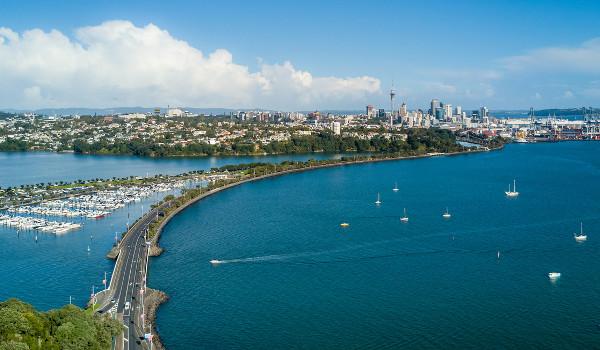 Auckland é a maior cidade da Nova Zelândia