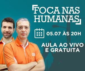 Aula para Ciências Humanas será realizada no dia 5 de julho