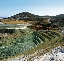 Extração de minério de ferro é uma das principais atividades