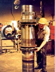 Manutenção de rotina em uma indústria
