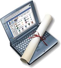 Nos cursos de EAD, a internet é parcela responsável da obtenção do diploma
