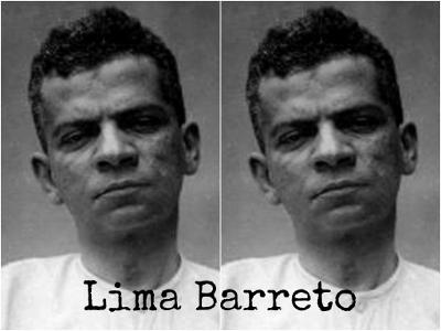 Fotografia de Lima Barreto tirada durante os três dias em que esteve internado no Hospício Nacional em 1919