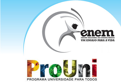 Sem fazer o Enem o estudante não pode se candidatar às bolsas do ProUni